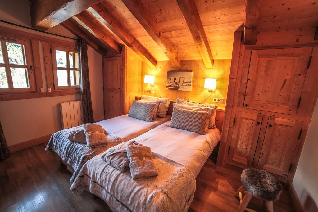 Location chalet chambre luxe 3