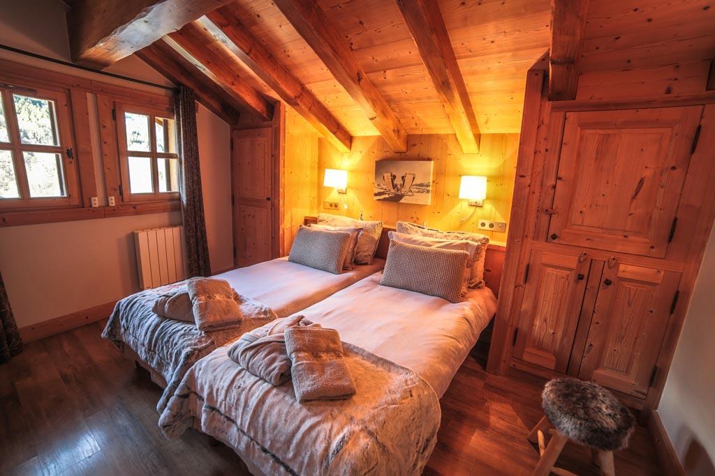 Location chalet chambre luxe 3 | Ferme de mon Grand Père