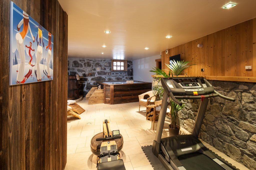Location chalet luxe jacuzzi sauna billard 2