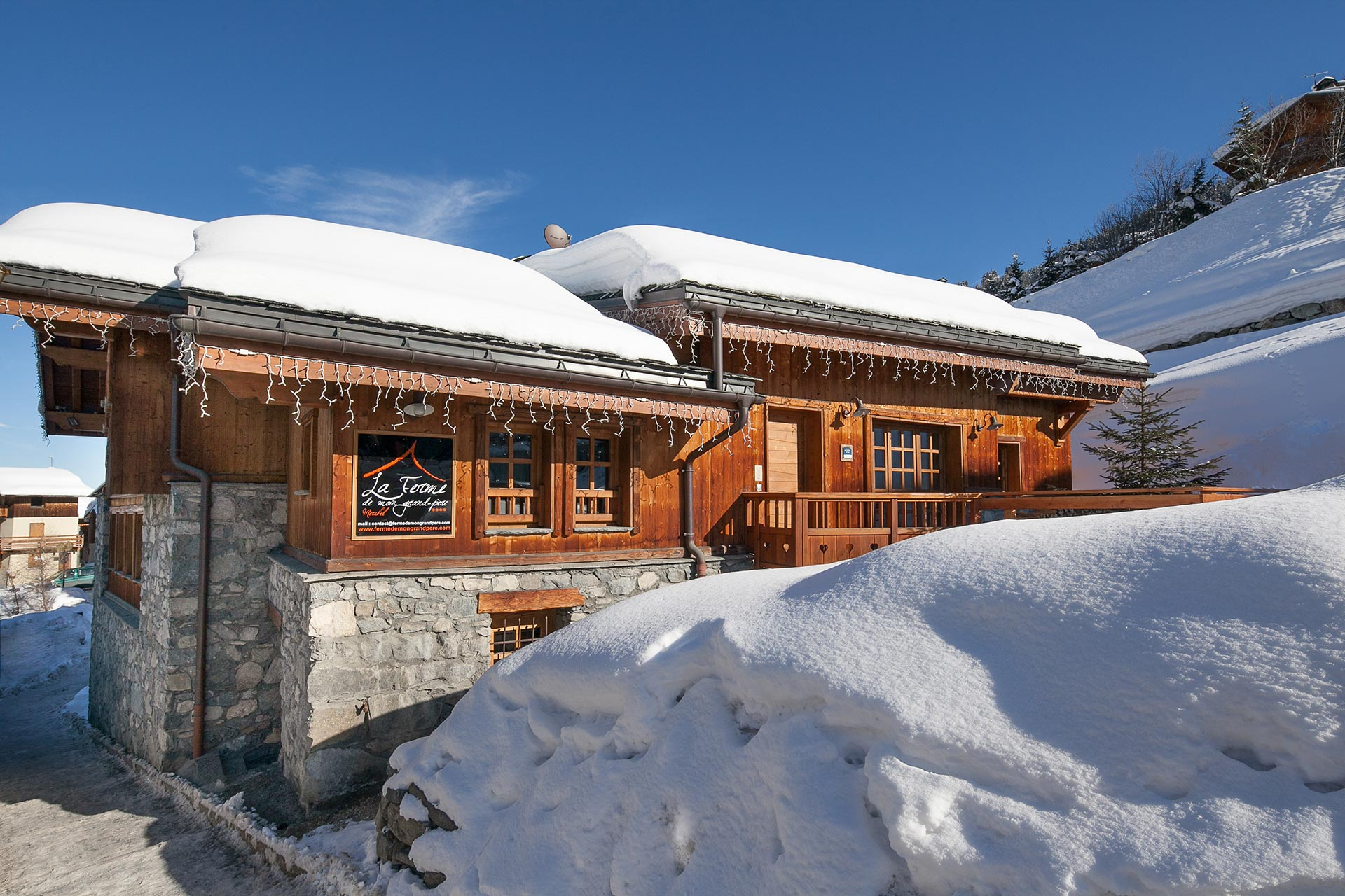 Location chalet luxe meribel